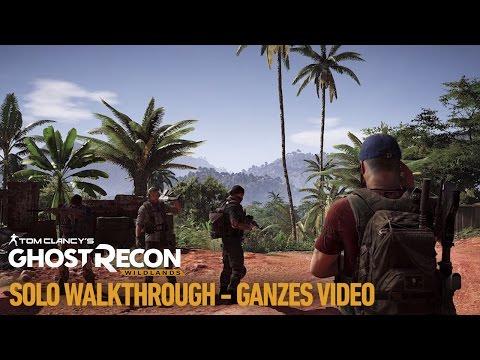 Tom Clancy's Ghost Recon Wildlands: Solo-Walkthrough | Ubisoft [DE]