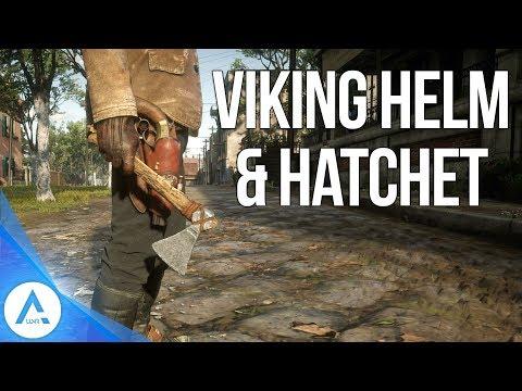 Red Dead Redemption 2 Weapon Locations - The Viking Helmet & Hatchet