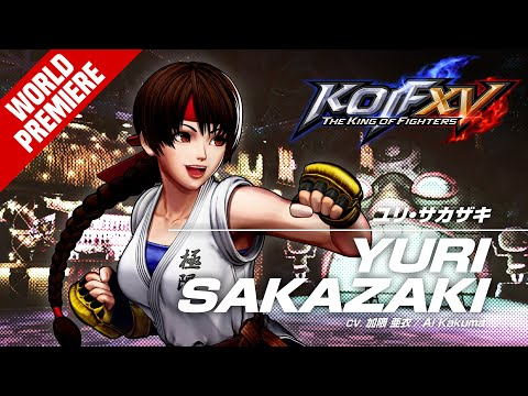 KOF XV|YURI SAKAZAKI|Trailer #9【TEAM SUPER HEROINE】