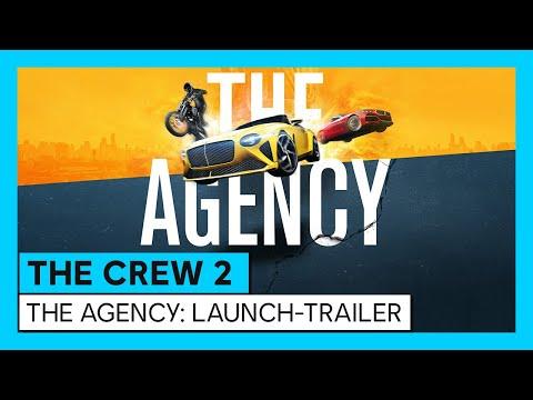 The Crew 2: The Agency Launch-Trailer (Season 2 - Episode 1)   Ubisoft [DE]