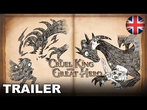 The Cruel King and the Great Hero - Story Trailer (Nintendo Switch, PS4) (EU - English)