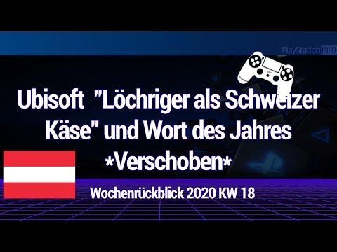 """Ubisoft """"Löchriger als Schweizer Käse"""" und Wort des Jahres *Verschoben*"""