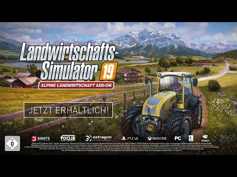 Landwirtschafts-Simulator 19 Alpine Landwirtschaft Add-On - Launch-Trailer
