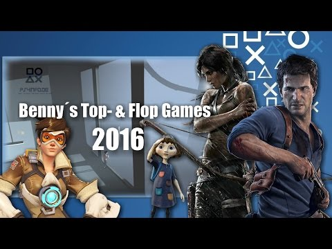 PlayStation 4 - Benny´s Top- & Flop Games 2016 | #PS4