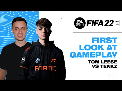 FIFA 22 | 1v1 Gameplay First Look | Tekkz v Hashtag Tom