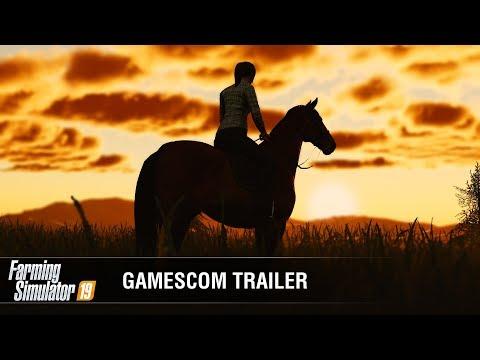 Farming Simulator 19 Official Gamescom Gameplay Trailer