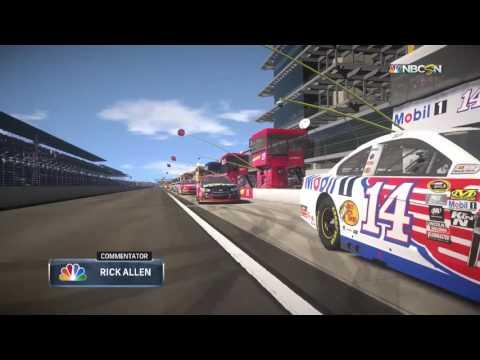 NASCAR Heat Evolution Indianapolis Intro