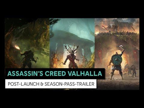 ASSASSIN'S CREED VALHALLA - Post-Launch & Season-Pass-Trailer