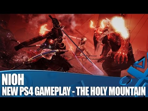 Nioh - New PS4 Gameplay - Defiled Holy Mountain Clean(ish) Run To Boss Battle!