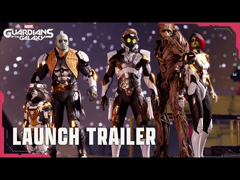 Marvel's Guardians of the Galaxy: Launch Trailer – Ab 26.10. für Konsole & PC