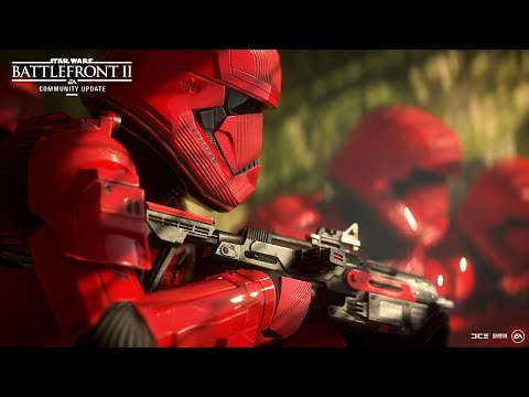 Star Wars Battlefront 2: Sith Trooper, Ajan Kloss, BB-8, and More – Community Update