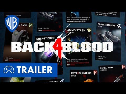 BACK 4 BLOOD - Kartensystem Trailer Deutsch German (2021)