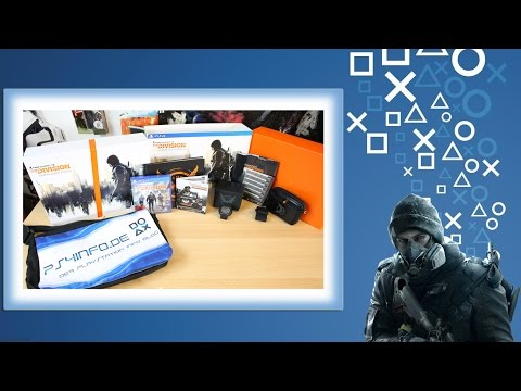 Tom Clancy's The Division Sleeper Agent Edition Unboxing #PS4