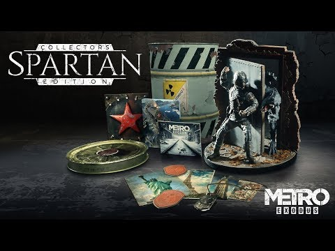 Metro Exodus - Spartan Collector's Edition Vorgestellt [DE]