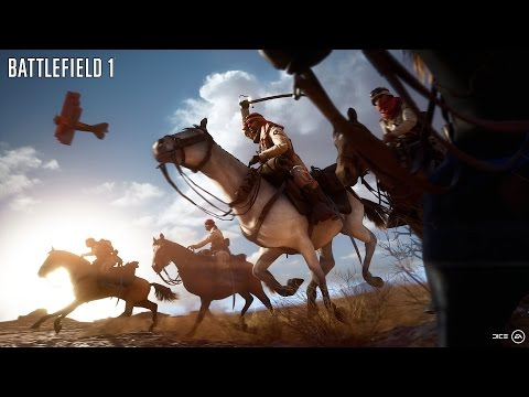 Battlefield 1: Cavalry (Horses!) Gameplay on New Desert Map (PS4/Xbox One/PC 1080p/60 FPS)