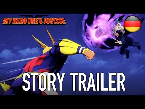My Hero One's Justice - PS4/XB1/PC/Switch - Story Trailer (Deutsch)
