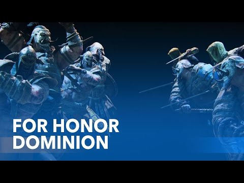 """FOR HONOR - """"Dominion"""" Multiplayer Gameplay // 1080p"""