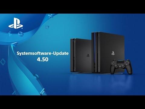 PS4-Systemsoftware 4.5 - Alles, was ihr wissen müsst!