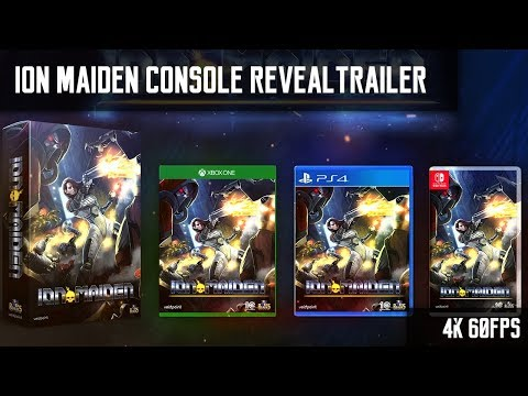 Ion Maiden - Official Console Reveal Trailer [Xbox One, PS4 and Switch]