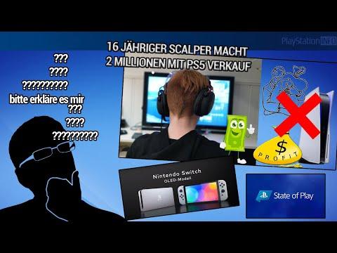 16 Jähriger macht Millionen mit PS5 Verkauf - Switch Pro? Hä?