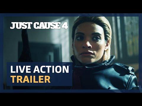 """Just Cause 4: """"Ein Mann hat all das getan?""""-Live-Action-Trailer"""