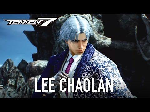 Tekken 7 - PS4/XB1/PC - Lee Chaolan / Violet (Gamescom Character Reveal Trailer)