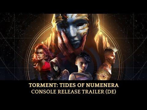 Torment: Tides of Numenera - Console Trailer (DE)