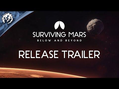 Surviving Mars: Below and Beyond | Release Trailer