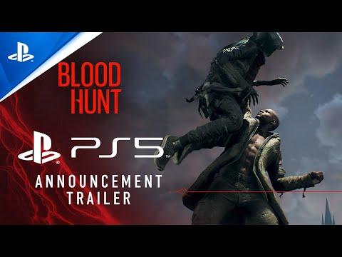 Bloodhunt - PlayStation Showcase 2021: World Premiere Trailer   PS5