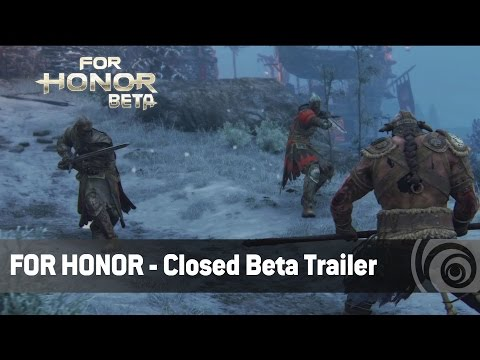 For Honor - Closed Beta-Trailer   Ubisoft [DE]