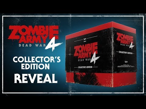 Zombie Army 4: Dead War – Collector's Edition Reveal   PlayStation 4, Xbox One