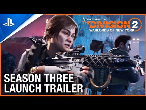 Tom Clancy's The Division - Season 3 Launch Trailer   PS4