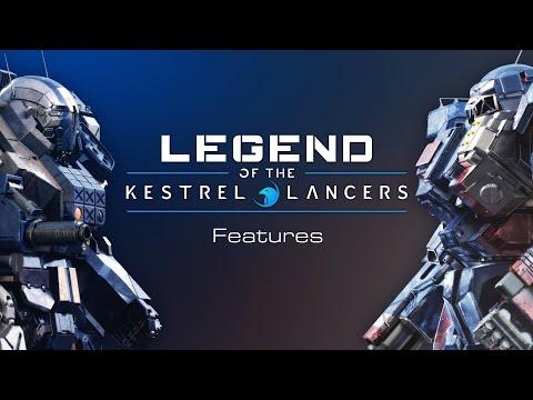 MechWarrior5: Mercenaries - Legend of the Kestrel Lancers Expansion Pack Features.