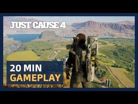 Just Cause 4: 20 Minutes Live Gameplay Presentation [ESRB]