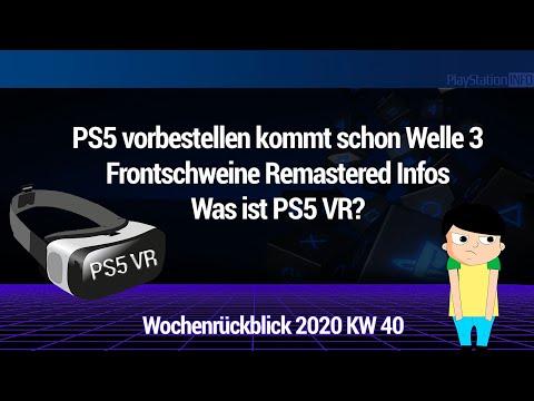 PS5 Vorbestellerwelle 3 - Frontschweine Remastered - Was ist mit PS5 VR