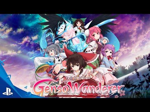 Touhou Genso Wanderer - Anime Expo Trailer   PS4, PS Vita