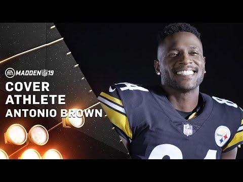 Madden 19 – Antonio Brown Cover Athlete