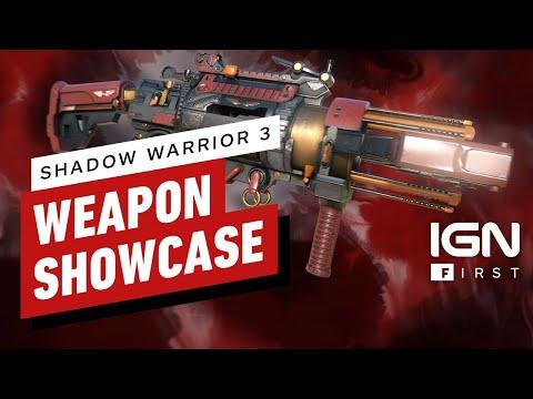 Shadow Warrior 3: Weapon Showcase - IGN First