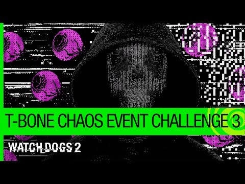 Watch Dogs 2: T-Bone Chaos Event – Challenge 3   Ubisoft [NA]