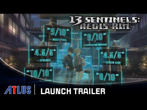 13 Sentinels: Aegis Rim – Launch Trailer | PlayStation 4