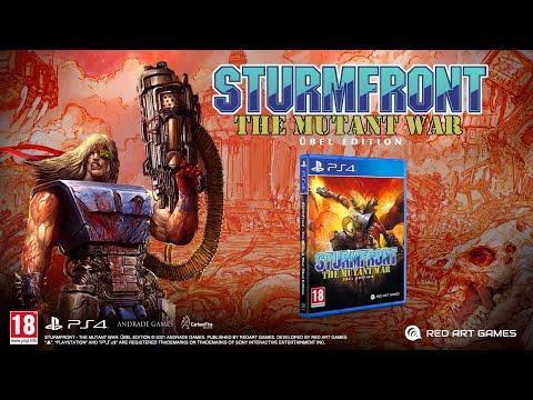 SturmFront - The Mutant War: Übel Edition - PlayStation 4 Trailer