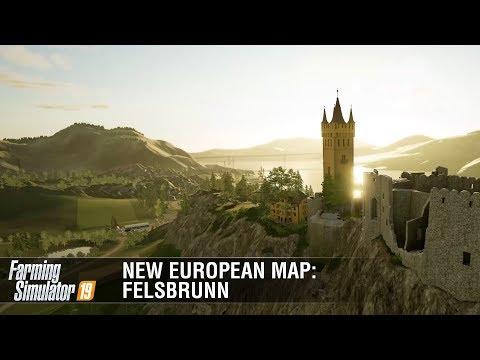 Farming Simulator 19: New European Map Felsbrunn Featurette
