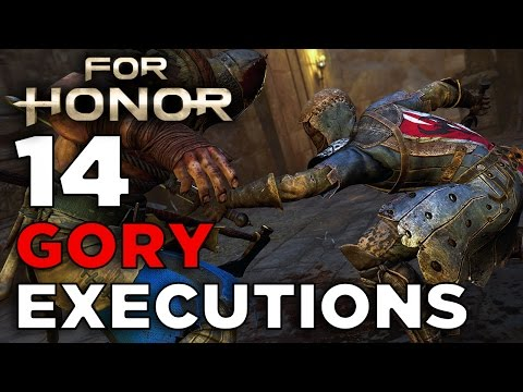 For Honor Executions Montage