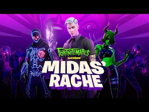 Fortnite: Albträume 2020 | Midas' Rache Gameplay-Trailer