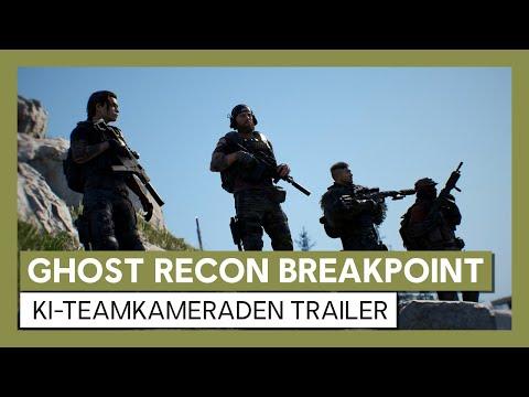 Ghost Recon Breakpoint: KI-Teamkameraden Trailer | Ubisoft [DE]