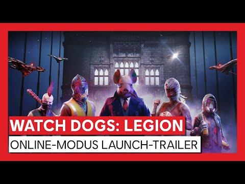WATCH DOGS : LEGION ONLINE-MODUS LAUNCH-TRAILER | Ubisoft [DE]