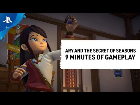 Ary and the Secret of Seasons - Gameplay Spotlight | PS4