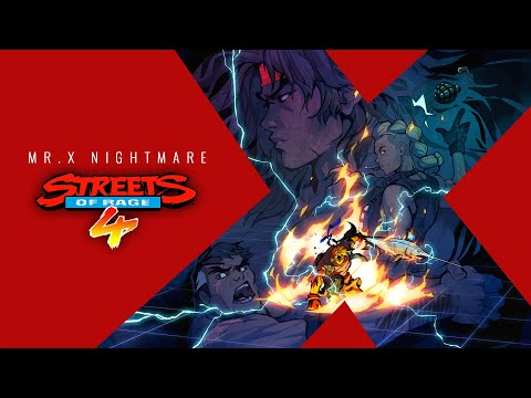 Streets of Rage 4 - Survival Mode and Release Date (Mr. X Nightmare DLC)