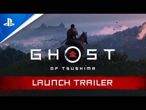 Ghost of Tsushima - Launch Trailer | PS4, deutsch