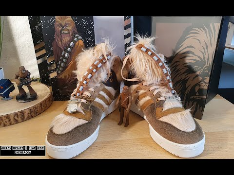 adidas Rivalry Hi Star Wars Chewbacca - On Feet and Check - Top 98%